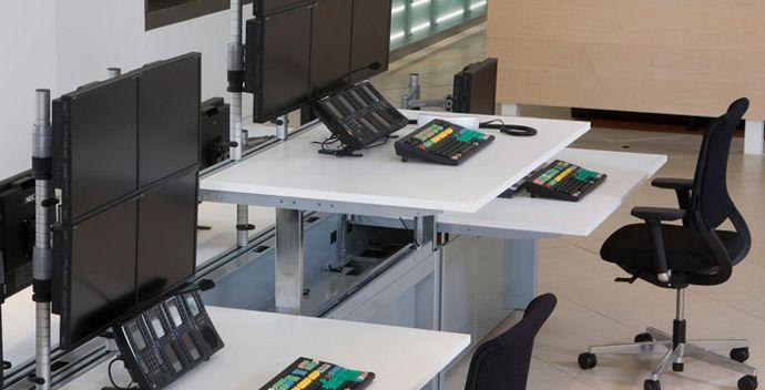 DAS金融交易台|金融台|金融实验室家具|学校家具|上海学校家具-【OF365学校家具网】