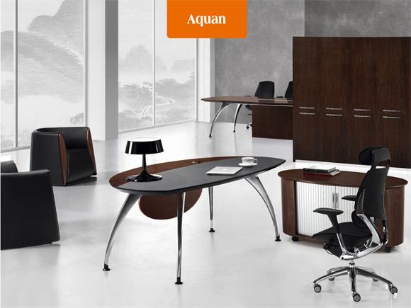 Aquan班台 办公桌 学校办公家具  学校家具 校园家具-【OF365学校家具网】