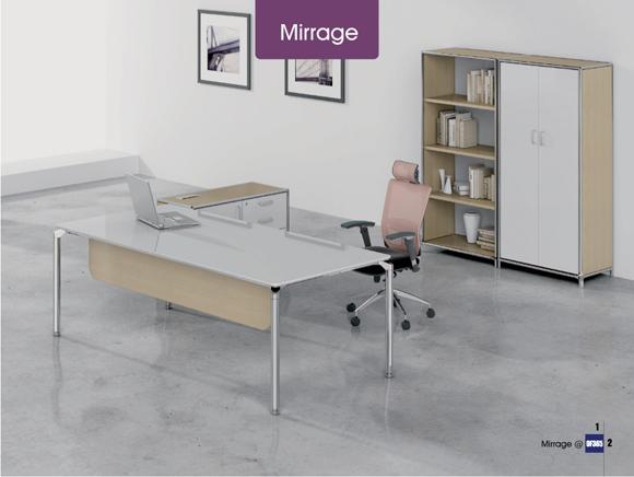 Mirrage班台 办公桌 学校办公家具 学校家具 校园家具-【OF365学校家具网】