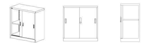 钢制文件柜|文件柜|学校办公家具|学校家具|校园家具-【OF365学校家具网】