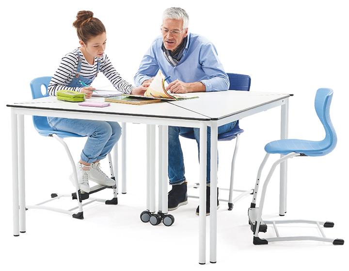德国VS全进口学生课桌椅@国际学校家具网
